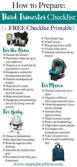 checklist essentials setting up house the third trimester checklist how to prepare free checklist