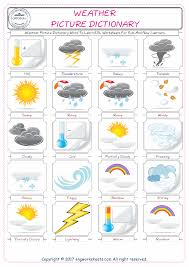 weather free esl efl worksheets made by teachers for teachers