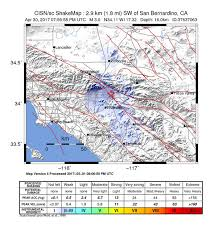 san bernardino ca map m 3 0 2km w of san bernardino california