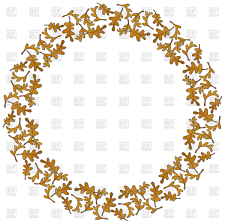 christmas frame of holly berry leaves vector clipart image 21852