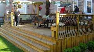 Pergola Deck Designs by Wrought Iron Railings Wrapped The Patio Deck Deck Design Custom