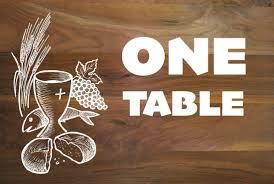 one table building community gospel link