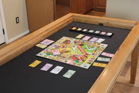 expandable game table gaming dining table the wood whisperer