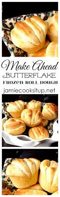 butterflake frozen roll dough