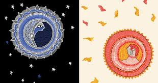 sun and moon stunning illustrations of celestial myths by ten of