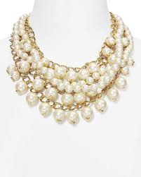 statement necklace pearl images Kate spade 12k gold lustrous pearls purely statement versatile jpg