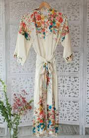dressing gown blossom dressing gown