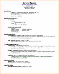 Resume For Artist 8 Resume For Job Budget Template Letter