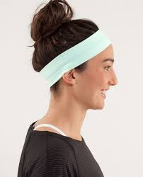lulu headband lululemon fly away tamer headband mint moment lulu fanatics