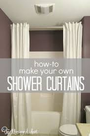shower curtain cornice tutorial crafts to try pinterest