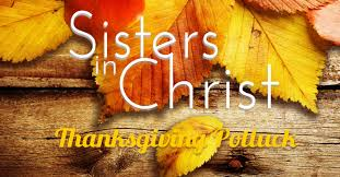 in thanksgiving potluck s ministry the