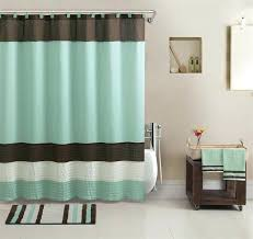 Green And Brown Shower Curtains Turquoise And Brown Bathroom Turquoise And Brown Shower Curtain