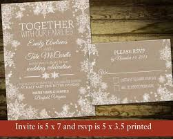 winter themed wedding invitations designs free snowflake invitation template also themed