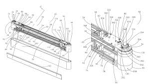 patent us7802674 belt tensioning system for vertical conveyor