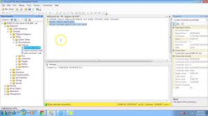 sql server create table primary key how to add and drop primary key in sql server 2008 and 2012 youtube