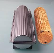 Bread Shaped Toaster Round Shape Hard Durable Toaster Fluted Wall Aluminium Moldes