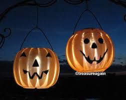 solar halloween mason jar lights pumpkin ghost halloween