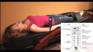 Roller Massage Table by Therasage Rx8000 Infrared Automatic Shiatsu Massage Bed Youtube