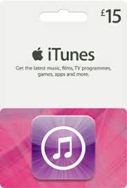 15 gift cards itunes gift card 15 gbp cdkeys