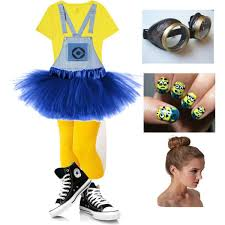 Despicable Minion Costume Cowgirl Halloween Costume Rodeo Cowgirl Costume