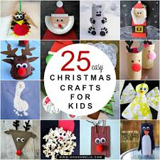 easy christmas craft ideas for kids to make cheminee website