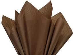 brown tissue paper espresso brown tissue paper 20x30 480 sheets 1 ream ebay