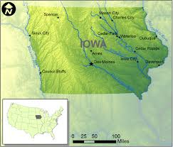 Iowa Map With Cities Water Free Full Text Inundation Mapping Initiatives Of The