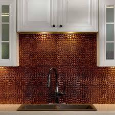 Copper Penny Tile Backsplash - copper penny tile backsplash backsplash decor