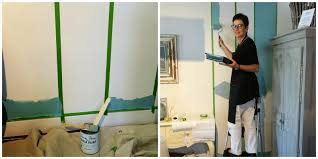 Cleaning Painted Walls by Brocante Home Collection U0027s Paintbrush And Pearls Painting Stripes