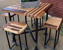 Kitchen Cutting Block Table by Butcher Block Table Etsy