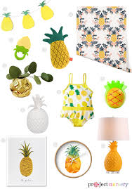Pineapple Trend by Live In A Pineapple But Not Under The Sea Project Nursery