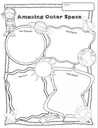 halloween printable writing paper space themed writing ideas for kindergarten primary theme park