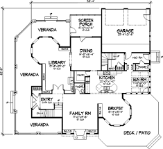 Victorian Mansion Floor Plans Victorian Style House Plan 4 Beds 5 00 Baths 4161 Sq Ft Plan