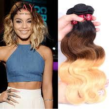 ombre weave top 3 pcs lot ombre hair wave bundles 3 tone