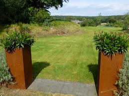 56 best corten steel planters images on pinterest corten steel