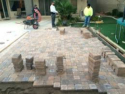 Lowes Pavers For Patio Concrete Driveway Pavers Lowes Paver Patio Installation Kuki Me
