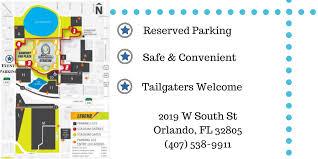 Street Map Orlando Fl by Camping World Stadium Orlando Carnival Downtown 2017 Parking