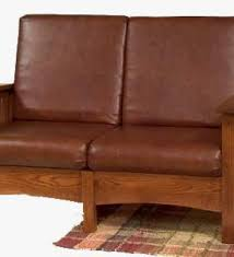 mission style leather sofa living room furniture mission furniture craftsman mission style