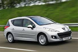 used peugeot estate cars for sale peugeot 207 sw 2007 car review honest john
