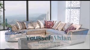 decoration appartement marocaine moderne salon marocain et européen decor d u0027intérieur 2016 youtube