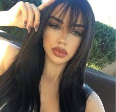 hair extensions for thinning bangs pinterest naomiokayyy makeup beauty faces lips eyes eyeshadow