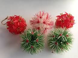 5 vintage mid century 1950 s plastic atomic sputnik ornaments