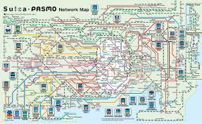 Tokyo Subway Map by Tokyo Pasmo Map