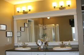 large bathroom mirror ideas of great ideas how to upgrade your builder grade mirror