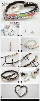 diy beaded cord bracelet images 1053 best pulseras diy images life is beads and jpg