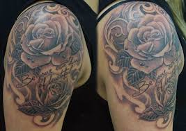 soul inn house tattoo two roses tattoo by rohan begolo