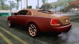 bentley wraith 2017 rolls royce wraith 2014 coupe for gta san andreas