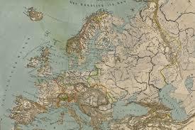 antique map of europe wallpaper mural muralswallpaper co uk
