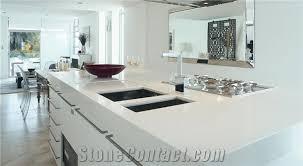 Quartz Kitchen Countertops Pure White Engineered Quartz Kitchen Countertops Pure White