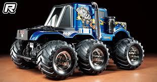 red rc u2013 rc car tamiya konghead 6 6 1 18th monster truck kit